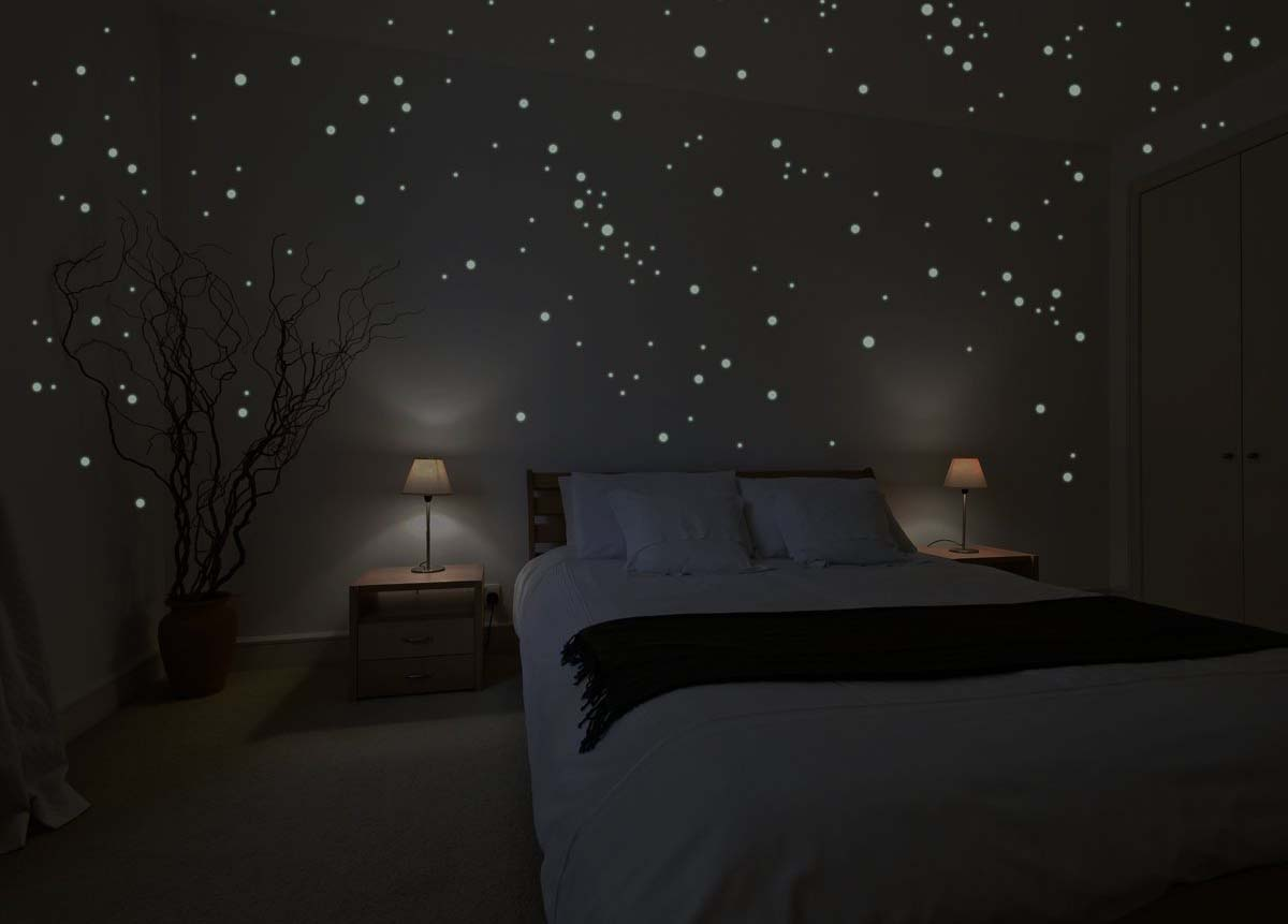 Baby Wall Stickers Ebay Glow In The Dark Wall Stickers Stars Choice Image Home