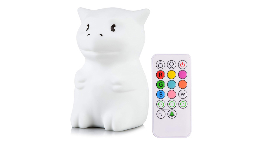 Lumipets Cute Animal Silicone Baby Night Light