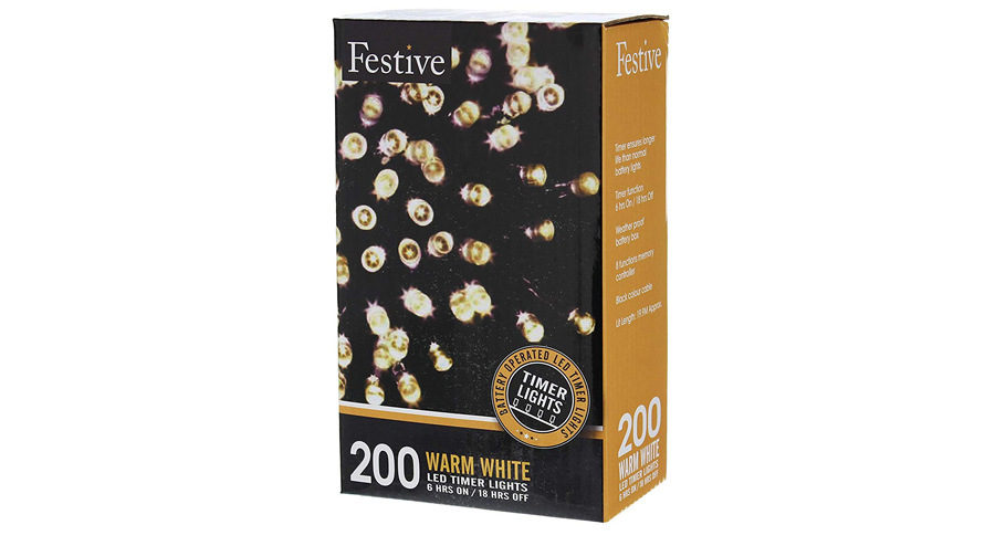 Festive Christmas String Lights