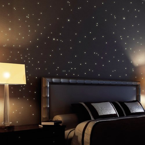 255 fluorescent stars and dots for starry sky